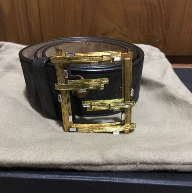 84ffcae0 Fendi Belt, Luxury, Apparel on Carousell