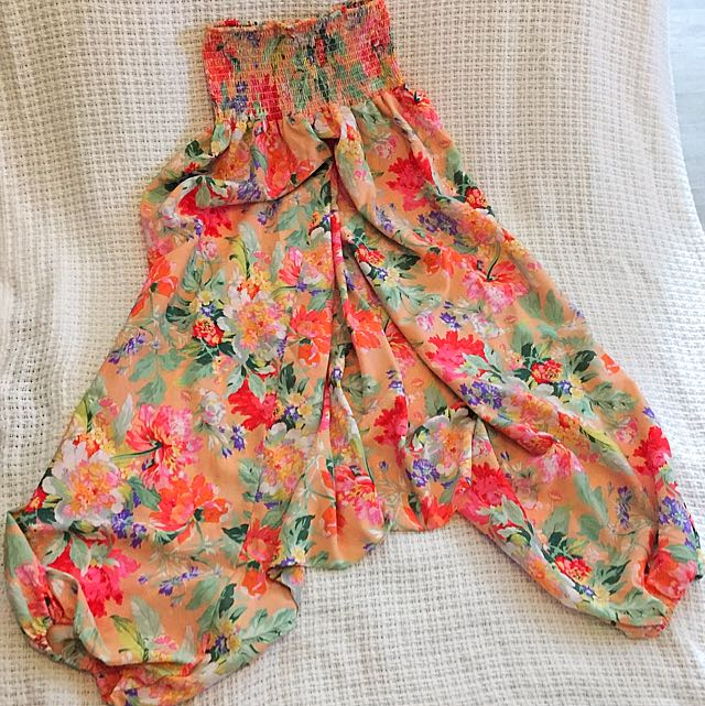 Floral Gypsy Style Pants