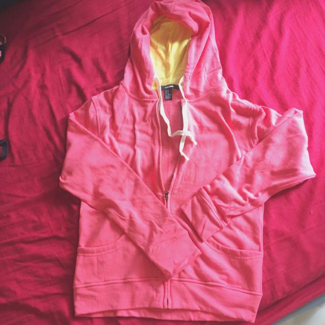 Forever21 jacket pinkpeach