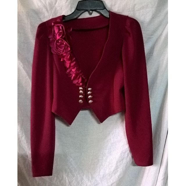 #BAGSAKPRESYO NOW P75.00 (OLD PRICE 150.00) Formal Coat maroon colors