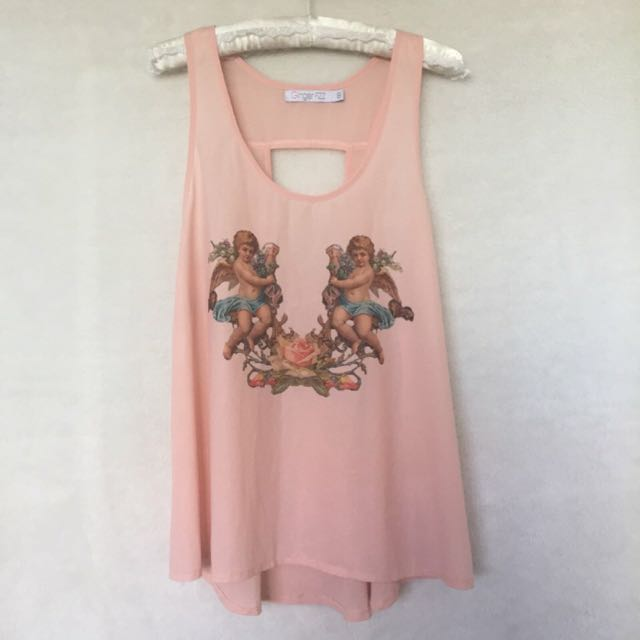 Ginger Fizz Top, Size 8