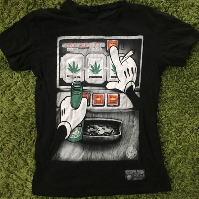 Graphic Tshirt From Amsterdam Size Smal