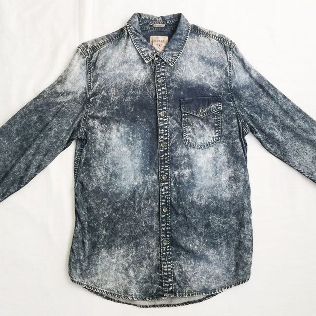🌟SPECIAL OFFER 🌟GUESS Acid Wash Shirt