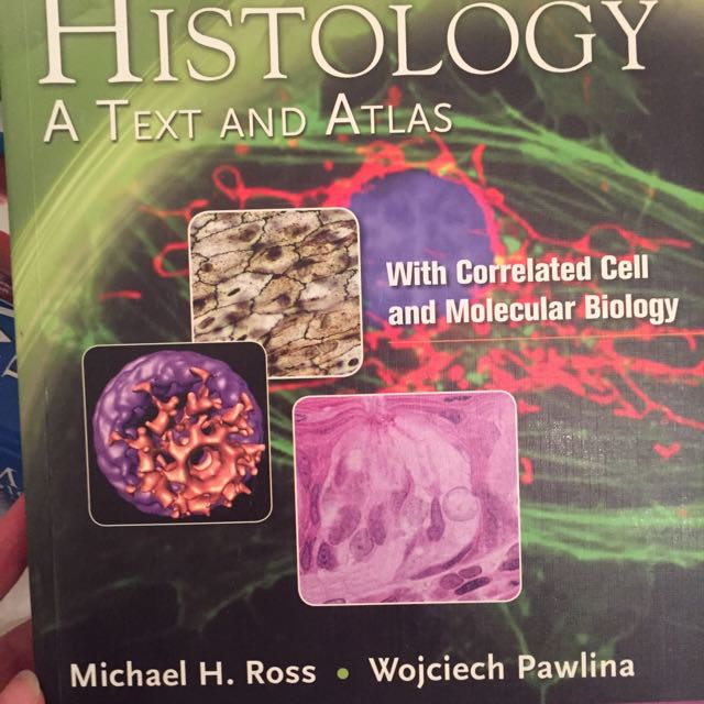 Histology A Text And Atlas Ross & Pawlina 6thE