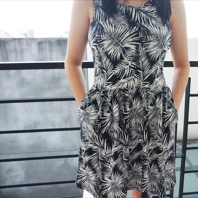 H&M Palm Dress