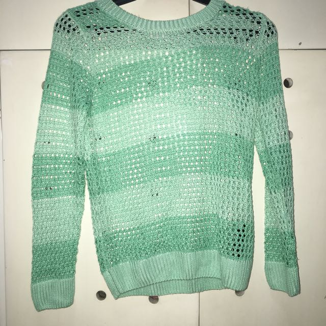 H&M Sheer outer sweater