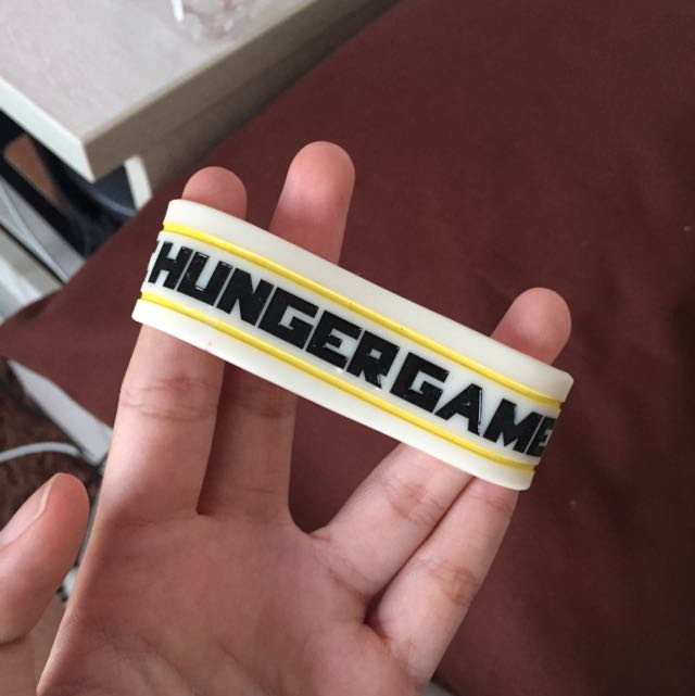 HUNGER GAMES WRISTBAND