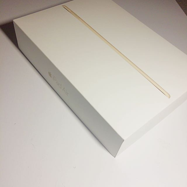 Ipad Air 2 Box And Original Acessories Only