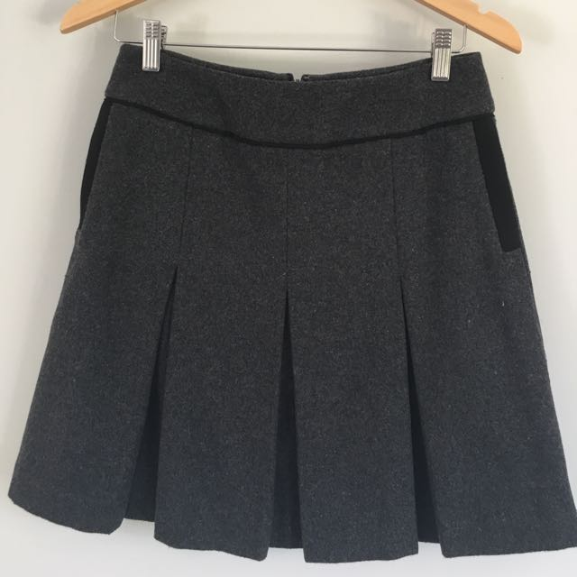 Jigsaw Pleated Skirt