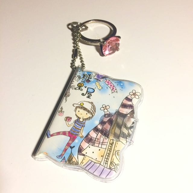 Keyring Miniature Notebook