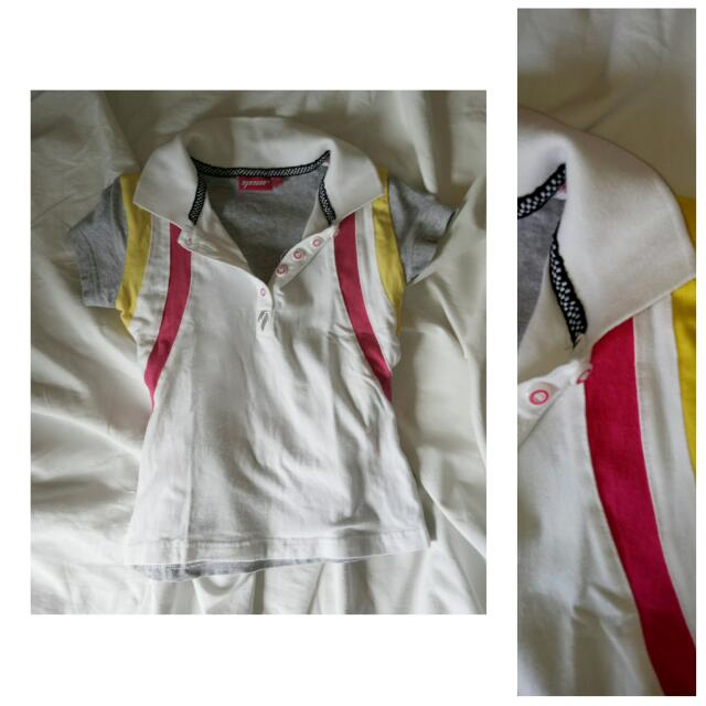 [kids] Imported Girl's Sporty Top