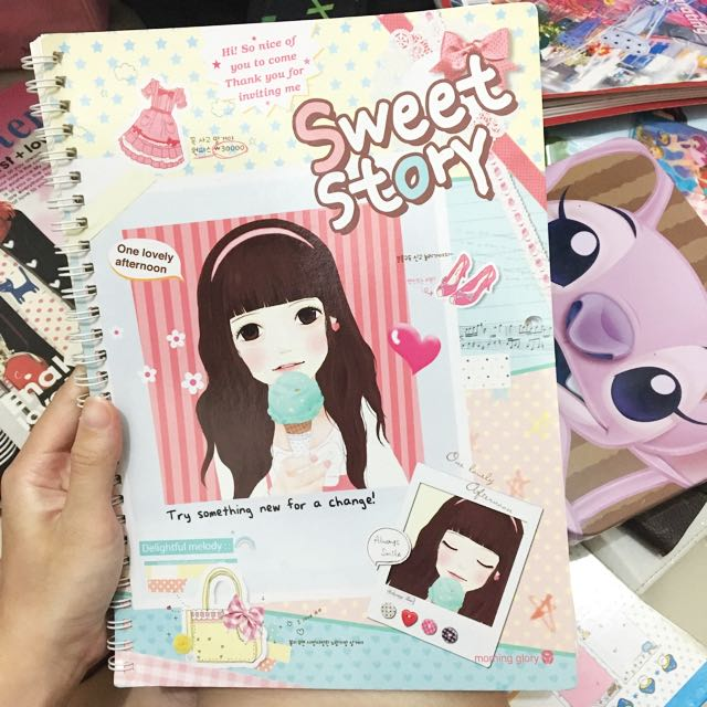 Korean Notebook