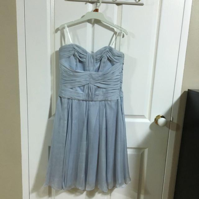Light blue silk Forever New dress size 10