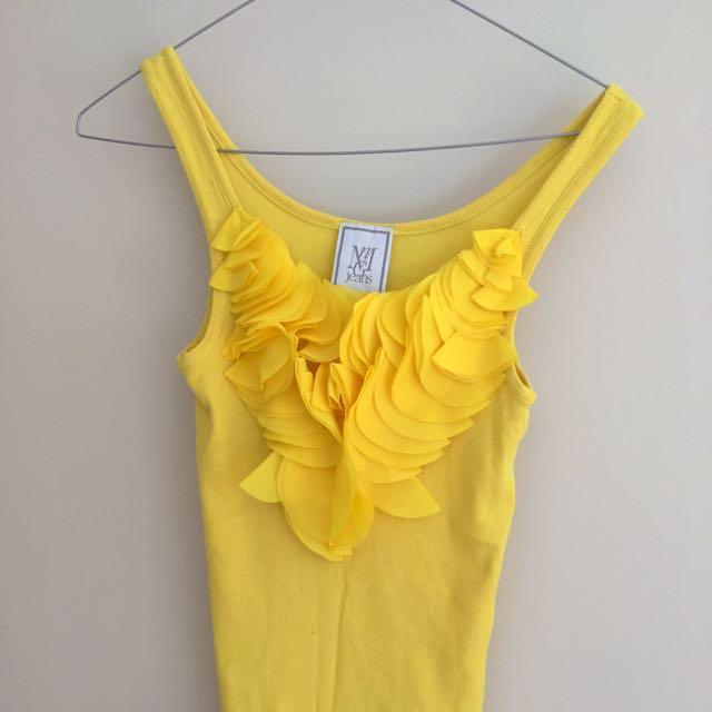 Mango Yellow Top Size S