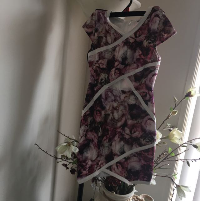 Milk And Honey Pink Floral Dress