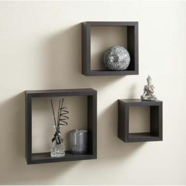 Mini Cube Floating Shelves