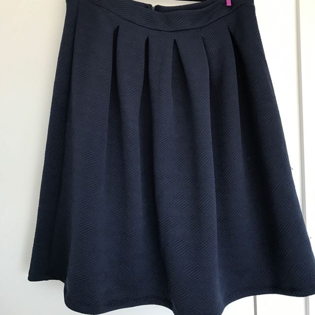 Navy Skirt - Oakridge