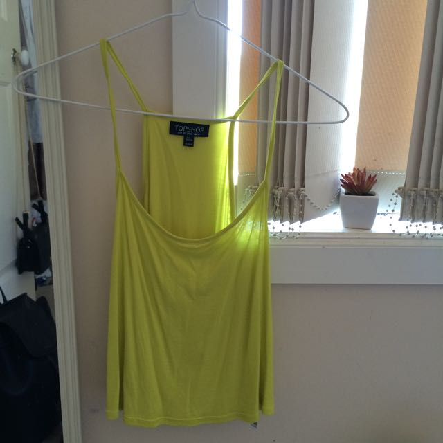 Neon Yellow Cami