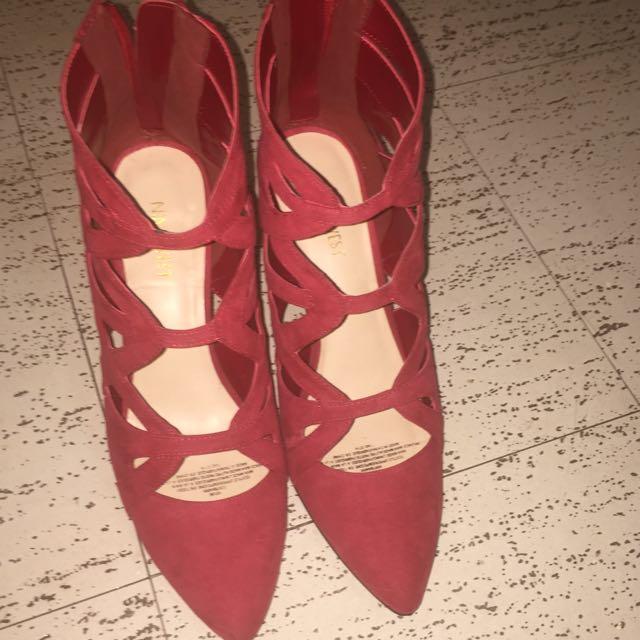 Nine West Velvet Stiletto