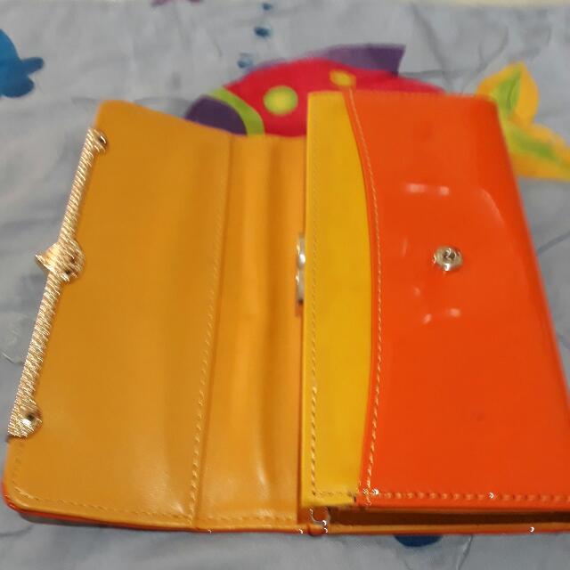 Orange Wallet