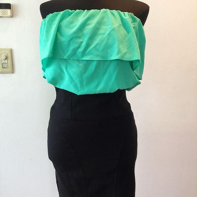 Original FOREVER21 High Waist Black Skirt