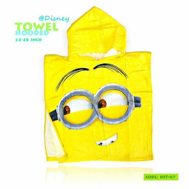 Overrun Kids Hooded Towel