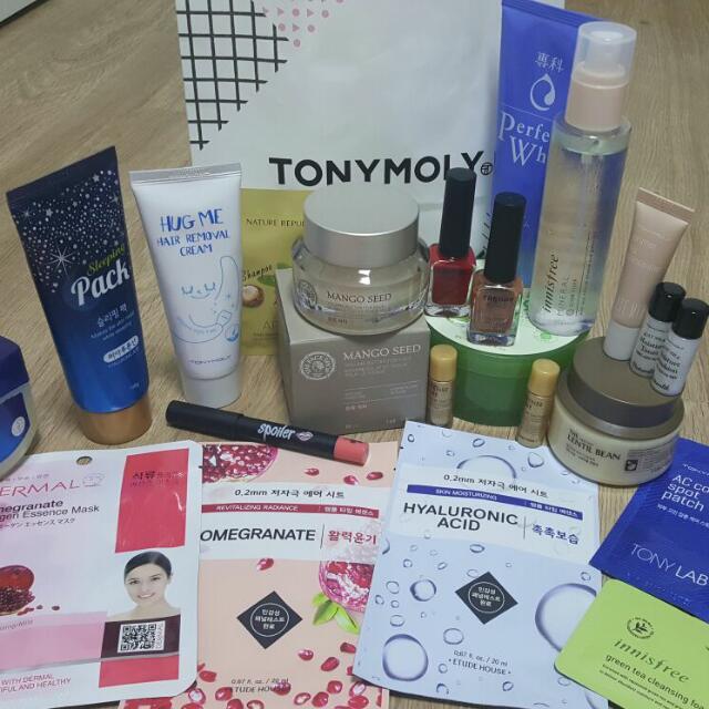 PO Korea Cosmetic Import LANEIGE TONY MOLY ETUDE HOUSE INNISFREE THE FACE SHOP dll