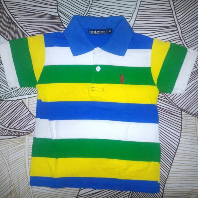 Polo Shirt 2-3y/o