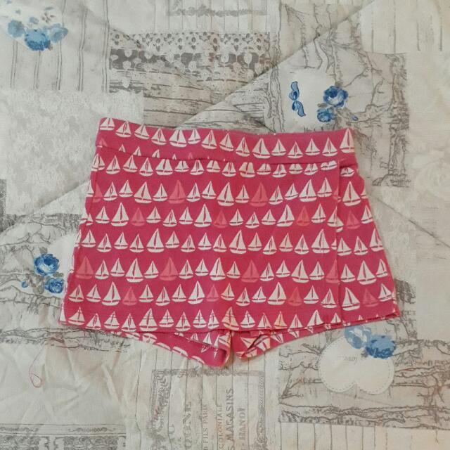 Rok Celana Pink Perahu Merk Gymboree Size 5 Tahun