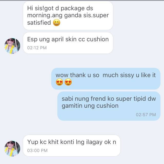 SATISFIED BUYER👍🏻👍🏻😍😍