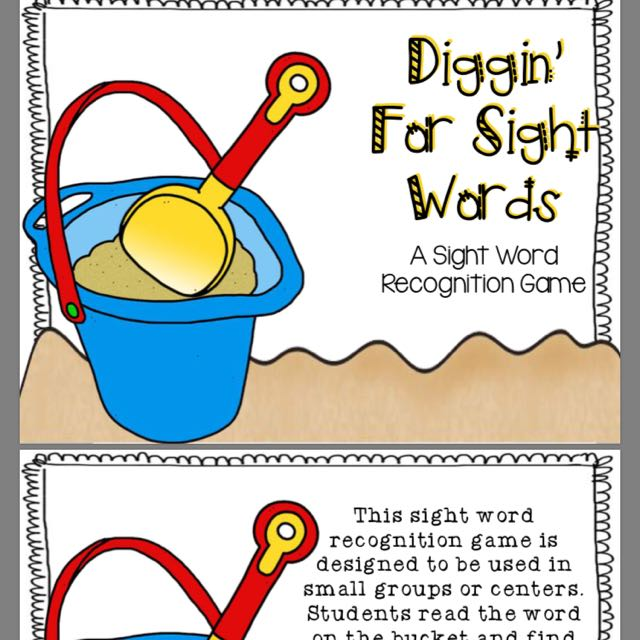 Sight Words Printables- Soft Copy, Babies & Kids on Carousell