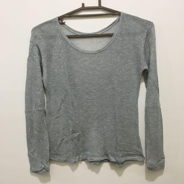 Silver Pullover