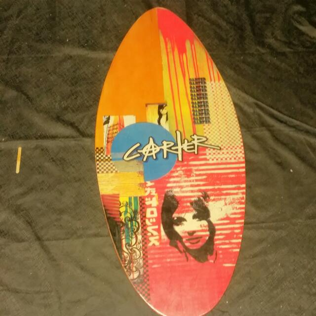 Skiff Board With Free Wax !!!