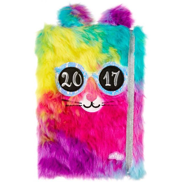 SMIGGLE FLUFFY 2017 MONTHLY PLANNER