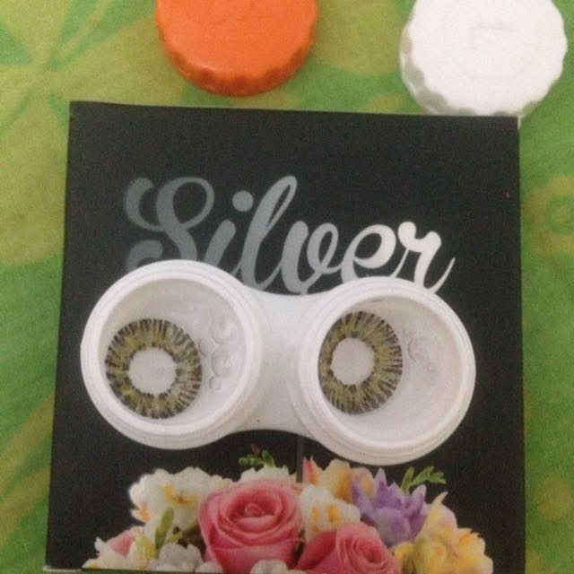 soflens silver by exoticon