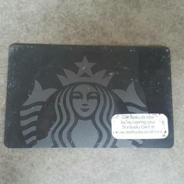 Starbucks Card Black Edition