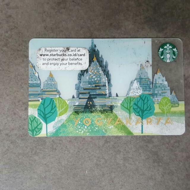 Starbucks Card Candi Prambanan