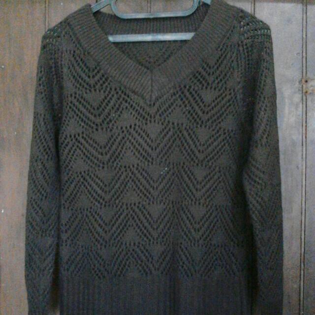 Sweater Jaring - Jaring
