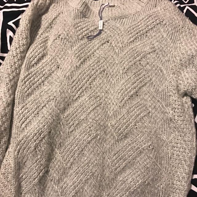 Target Top Wool Jumper