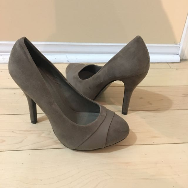Taupe Aldo Heels