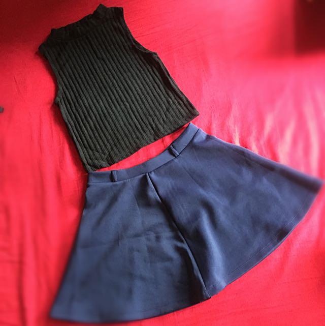 Tops & Skater skirt