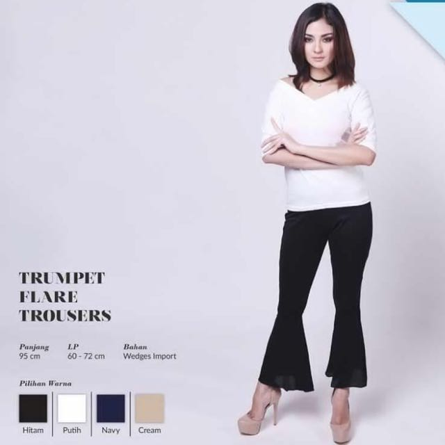 Trumpet Flare Trousers