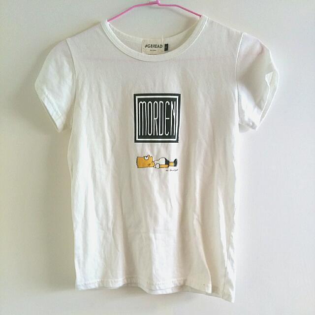 辛普森簡單圖文T-shirt #運費我來出
