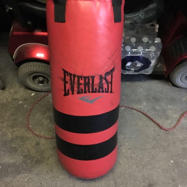 Used Everest Punching Bag