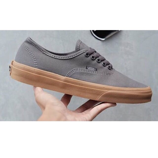 Vans Authentic Grey/Gum