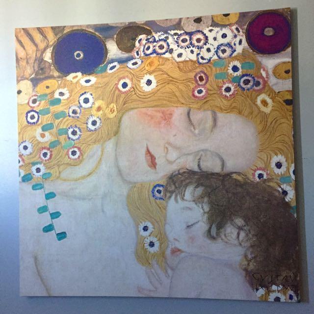 Victor Klimt Canvas Print (large)