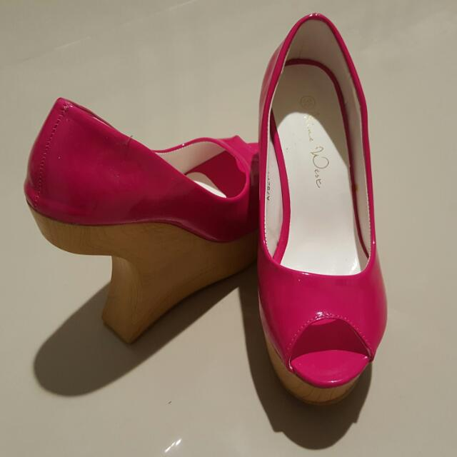 Wedges Pink Size 36