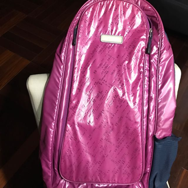 日本知名品牌Yonex紫色兩隻裝羽球袋