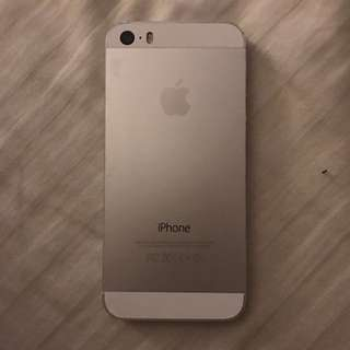 Iphone 5s With Free Cases💕 (16gb,sliver,5monthsused)