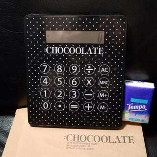 CHOCOOLATE 計數機MOUSE PAD